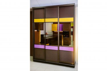 Шкаф-купе для спальни Метрополи