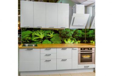 Белая кухня Брокколо