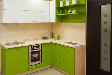 Угловая кухня Оливия
