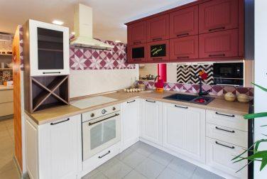 Угловая кухня Марсала