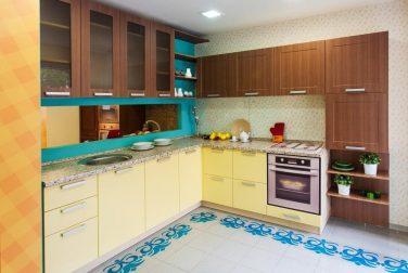 Угловая кухня Перлино