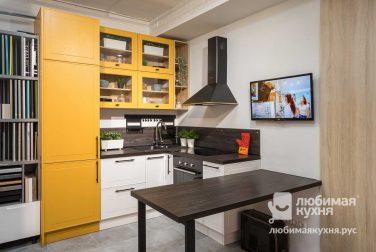 Угловая кухня Лаксе